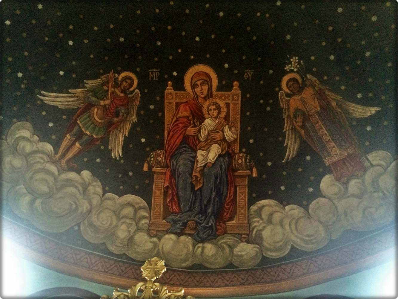 Detaliu Boltă altar