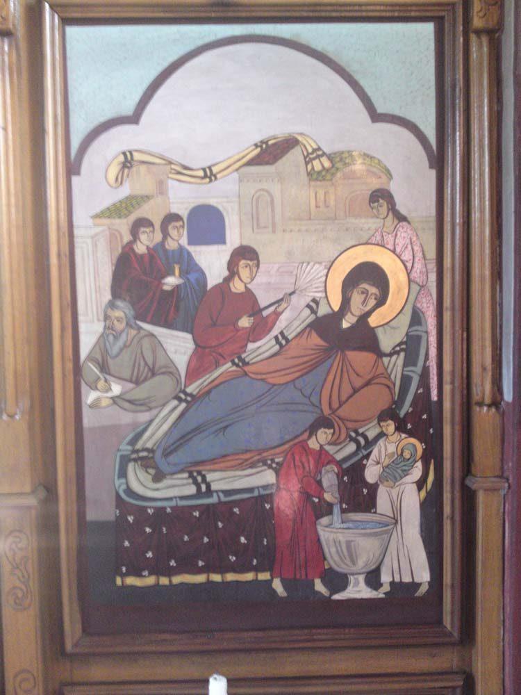 """Icoana """"Nașterea Sfântului Ioan Botezătorul"""""""
