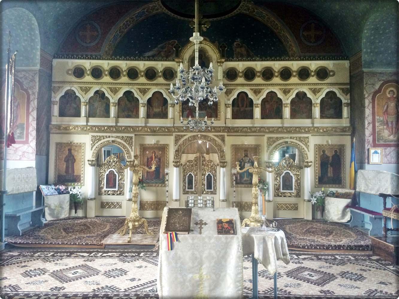 Iconostasul Bisericii-Vedere centrală