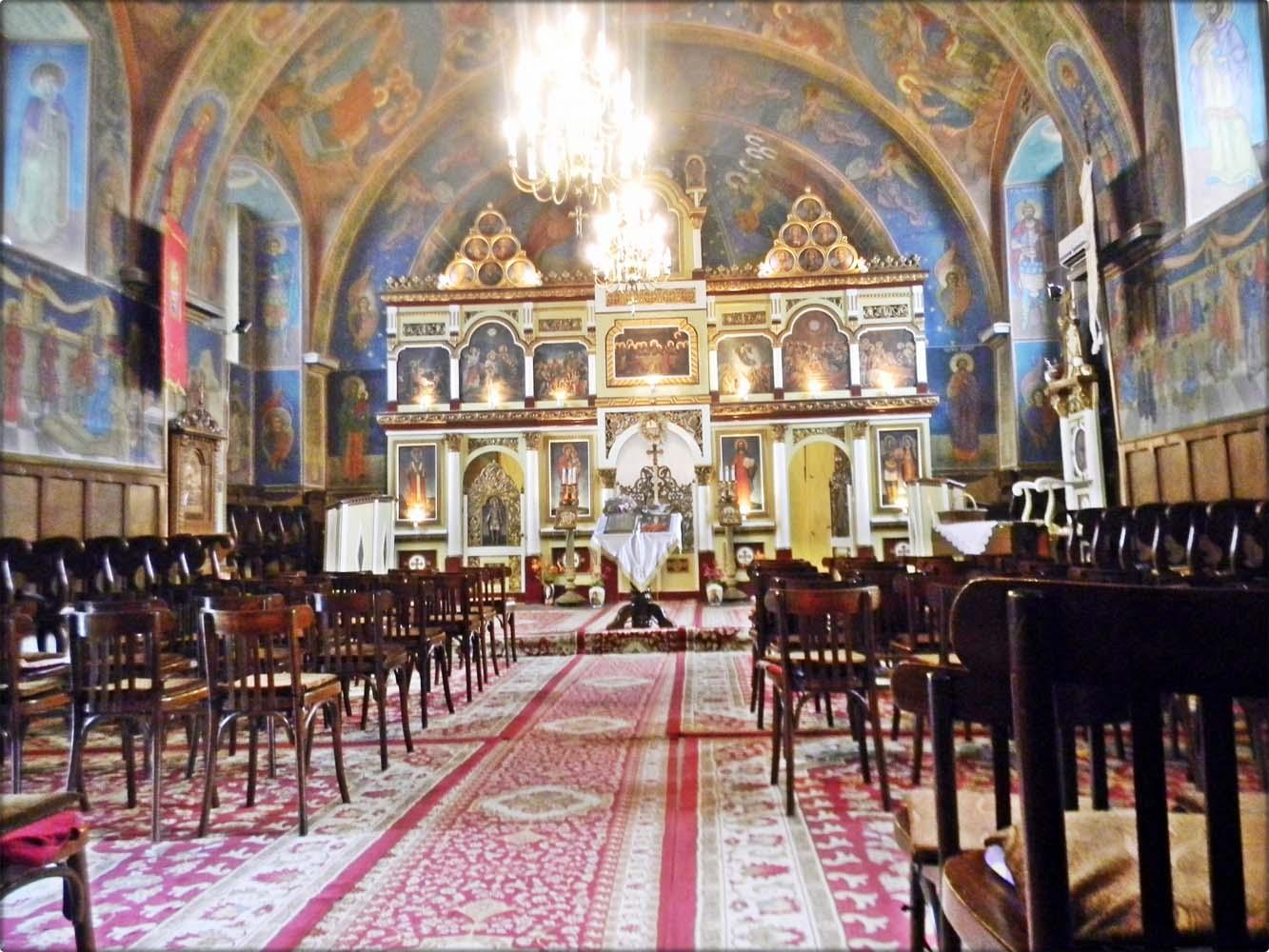 Interiorul Bisericii-Vedere centrala